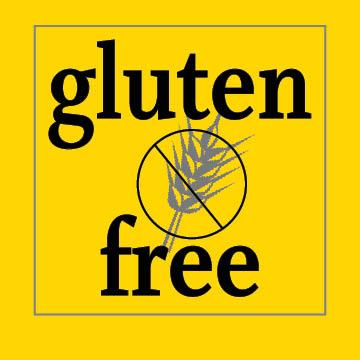 gluten free bread, pasta, cookies, cereal