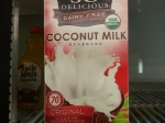 Unsweetened coconut milk.