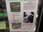M&B Farview Farms, local grass fed naturally raised beef, pork, lamb, chicken, and goat.