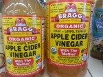 The infamous Bragg's apple cider vinegar. Google it!