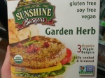 Sunshine Burgers!  Sunflower seeds and just a little brown rice.